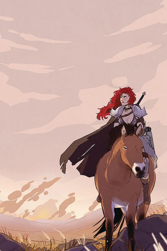 Red Sonja #5 (40 Copy St. Onge Virgin Cover)