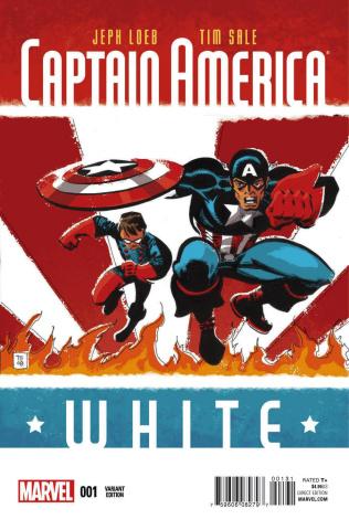 Captain America: White #1 (Sale Cover)