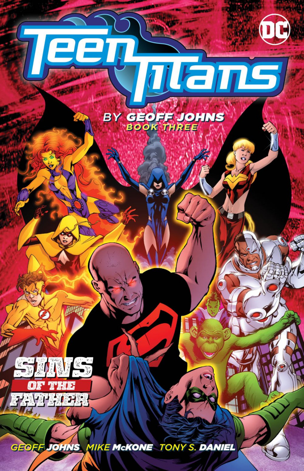 Teen Titans by Geoff Johns Book 3