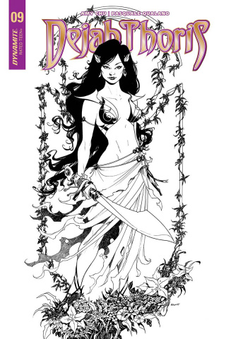 Dejah Thoris #9 (20 Copy McKone B&W Cover)