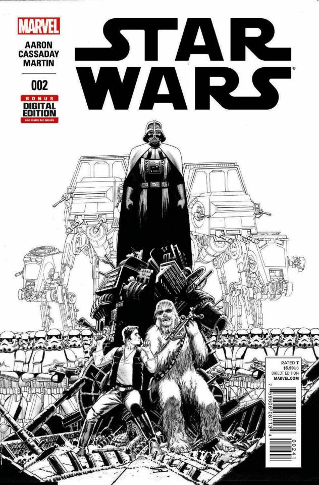 Star Wars #2 (Cassaday Sketch Cover)