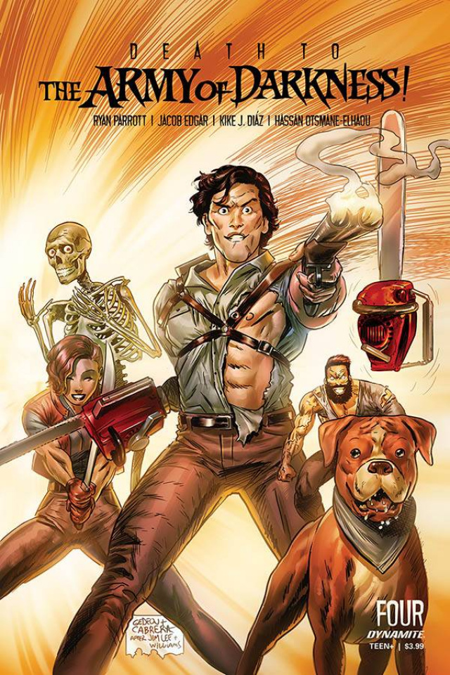 Death to the Army of Darkness #4 (Gedeon Homage Cover)