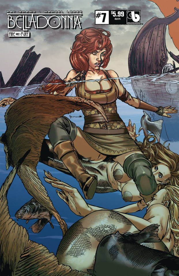 Belladonna: Fire and Fury #7 (Adrift Cover)