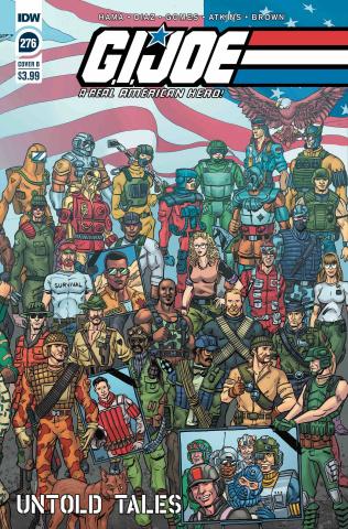 G.I. Joe: A Real American Hero #276 (Shearer Cover)