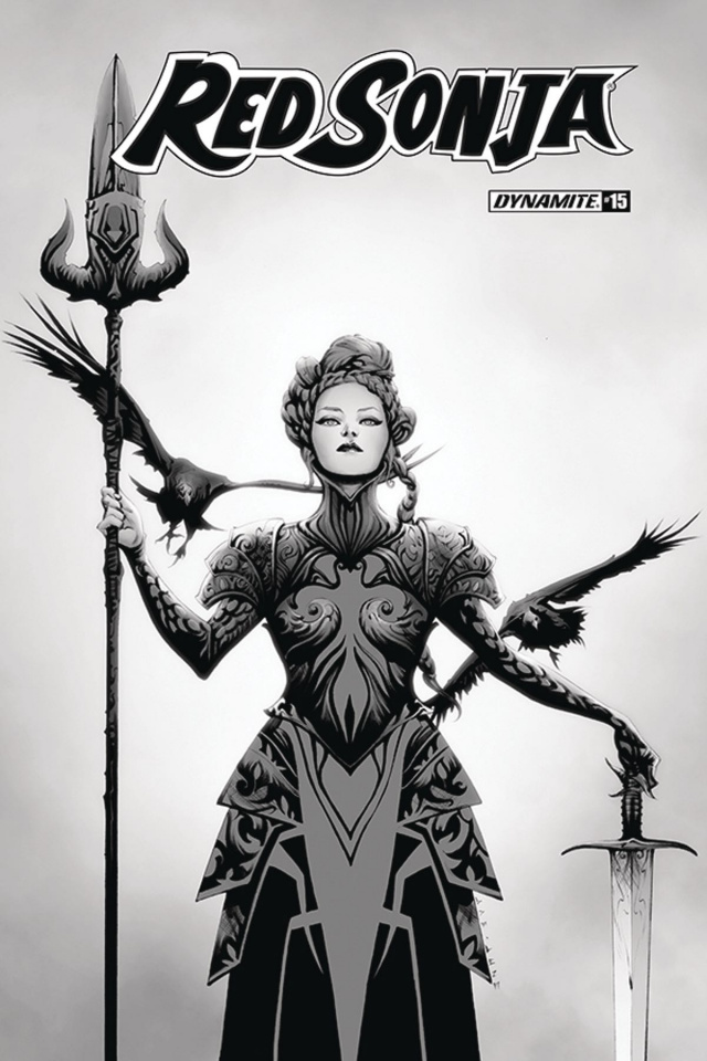 Red Sonja #15 (30 Copy Lee B&W Cover)