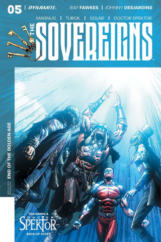 The Sovereigns #5 (Desjarndins Cover)