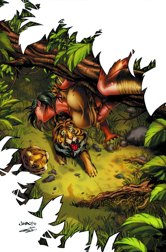 Grimm Fairy Tales: The Jungle Book - Last of the Species #5 (Salgado Cover)