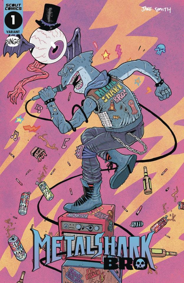 Metalshark Bro #1 (10 Copy Cover)