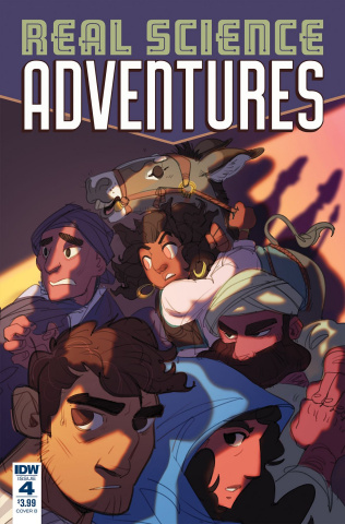 Real Science Adventures: Nicodemus Job #4 (Foley Cover)