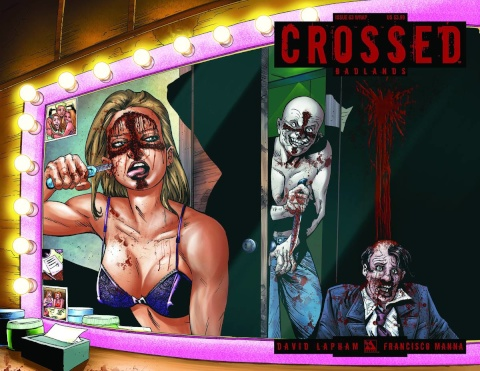 Crossed: Badlands #63 (Wrap Cover)