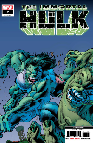 The Immortal Hulk #7 (Bennett 2nd Printing)