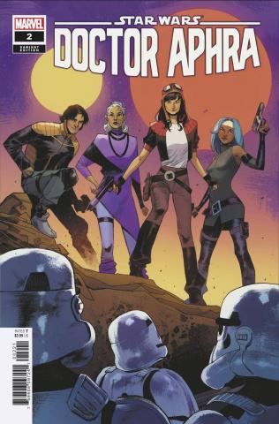 Star Wars: Doctor Aphra #2 (Pichelli Cover)