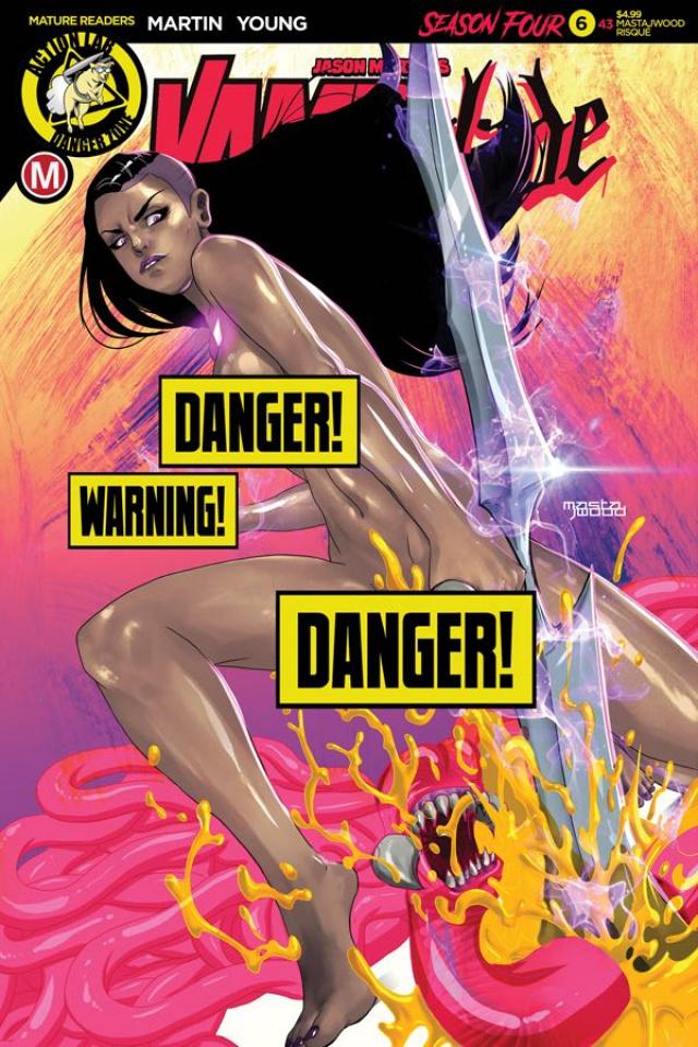Vampblade, Season Four #6 (Mastajwood Risque Cover)