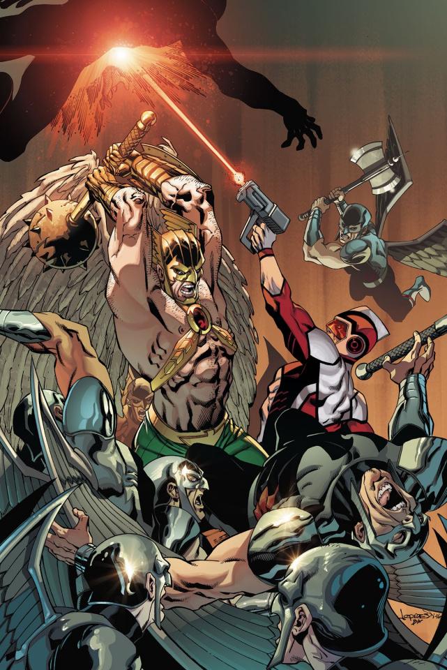 Death of Hawkman #3
