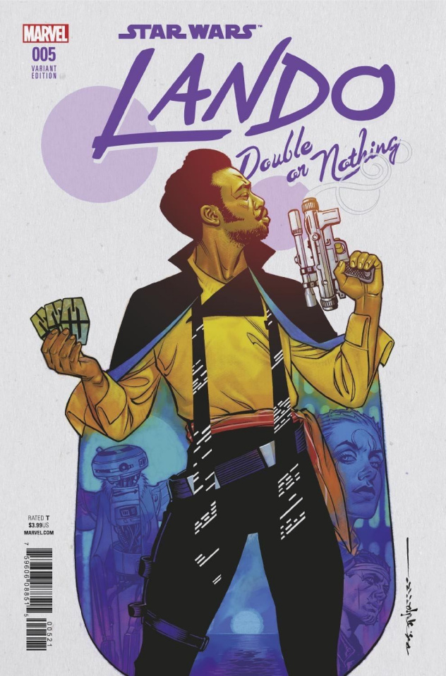 Star Wars: Lando - Double or Nothing #5 (Stelfreeze Cover)