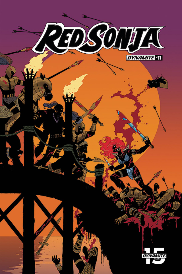 Red Sonja #11 (Conner & Mounts Cover)