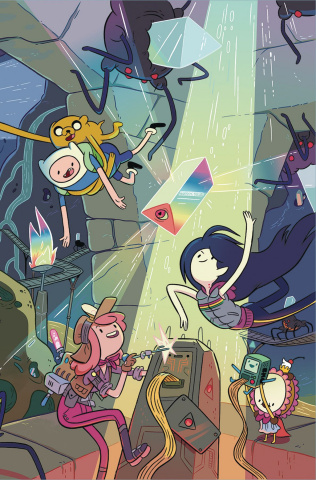 Adventure Time #75 (Wraparound Cover)