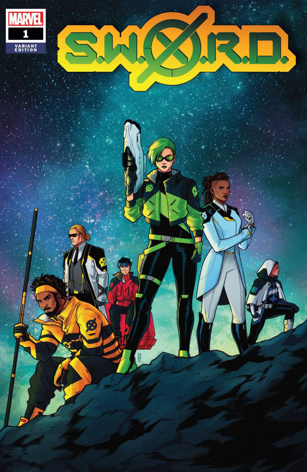 S.W.O.R.D. #1 (Bartel Cover)