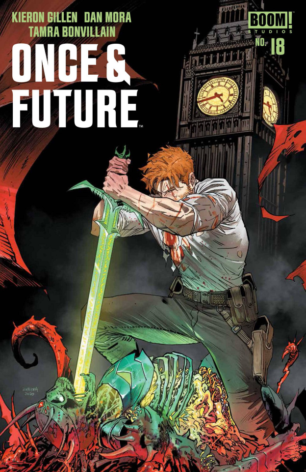 Once & Future #18 (Mora Cover)
