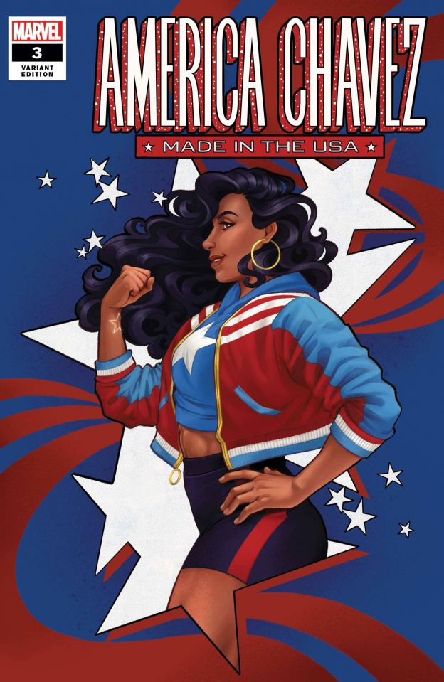 America Chavez: Made in the U.S.A. #3 (Cola Cover)