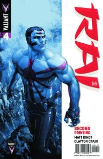 Rai #4 (2nd Printing)