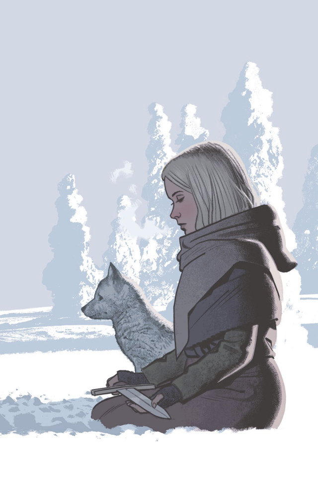 Sword Daughter #4 (Smallwood Cover)