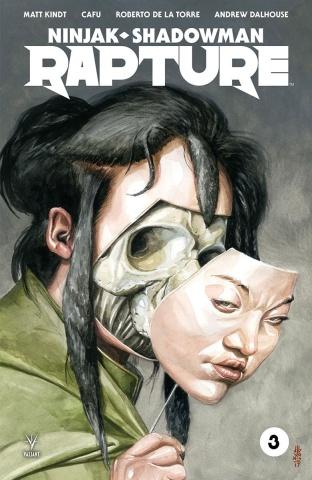 Rapture #3 (Jones Cover)