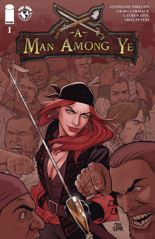 A Man Among Ye #1 (Cermak Cover)