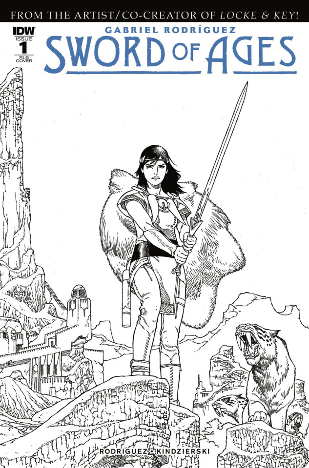 Sword of Ages #1 (25 Copy Cover)