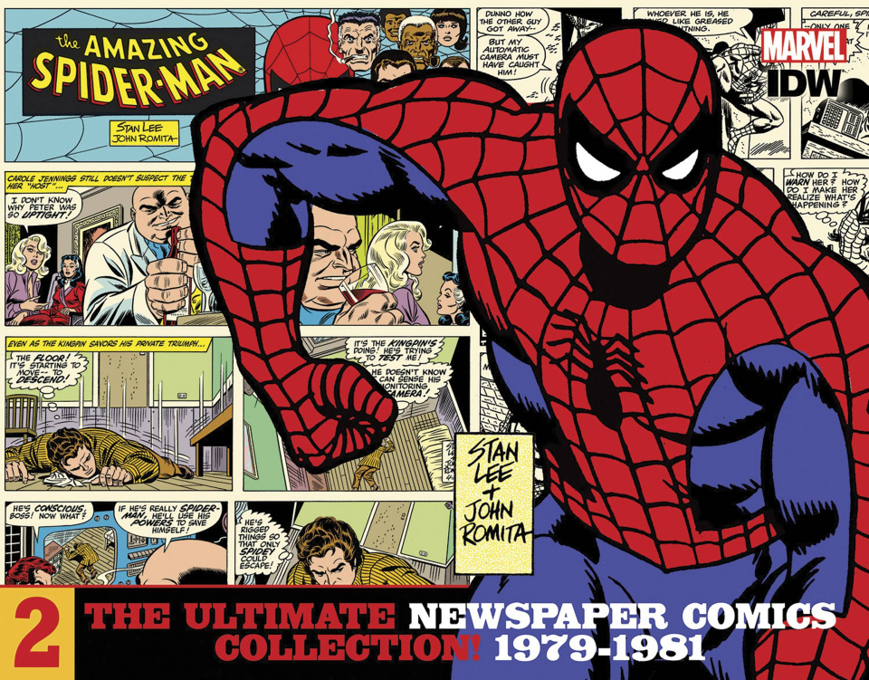 The Amazing Spider-Man: The Ultimate Newspaper Comics Collection Vol. 2: 1979-1981