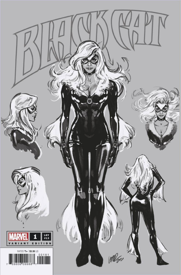 Black Cat #1 (Larraz Sketch Cover)