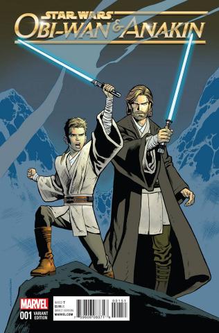 Obi-Wan & Anakin #1 (Nowlan Classic Cover)
