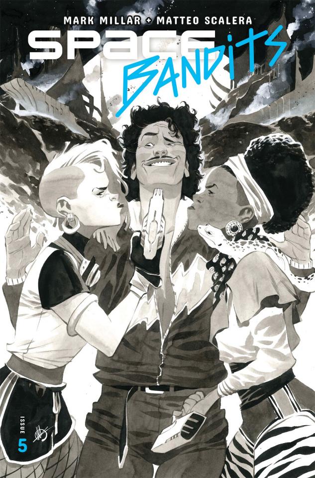 Space Bandits #5 (Scalera Cover)