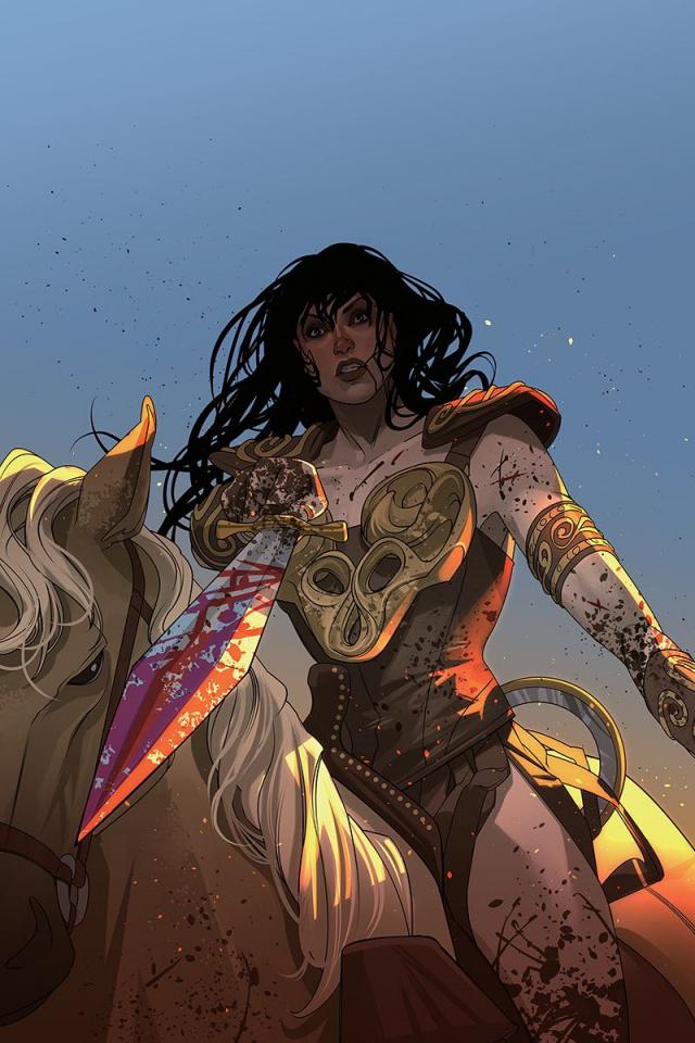 Xena: Warrior Princess #6 (20 Copy Stott Virgin Cover)