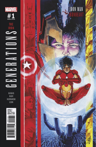 Generations: Iron Man & Ironheart #1 (Rudy Cover)