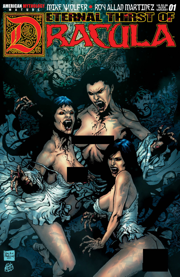 Eternal Thirst of Dracula #1 (Brides Nude Cover)