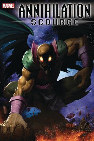 Annihilation: Scourge Alpha (Olivetti Cover)