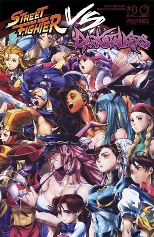Street Fighter vs. Darkstalkers #0 (Nanteau Cover)
