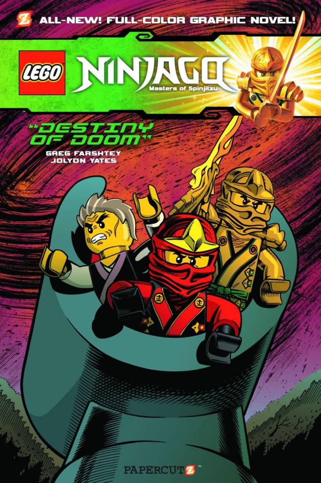 Ninjago Vol. 8: Destiny of Doom
