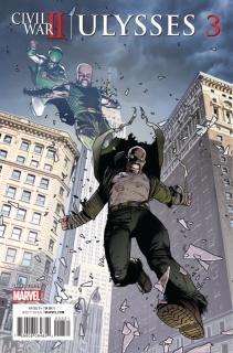 Civil War II: Ulysses #3 (Walker Cover)