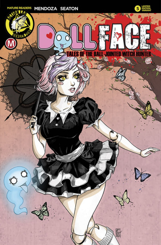 Dollface #5 (Turner Pin Up Cover)