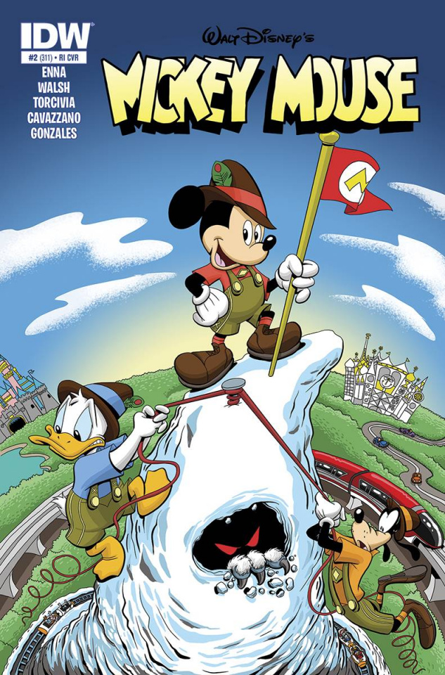 Mickey Mouse #2 (25 Copy Cover)