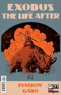 Exodus: The Life After #1 (Francavilla Cover)