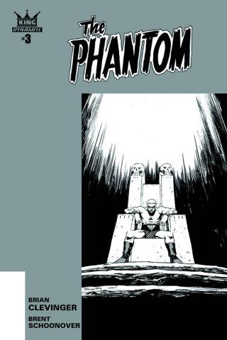 The Phantom #3 (10 Copy Shalvey B&W Cover)