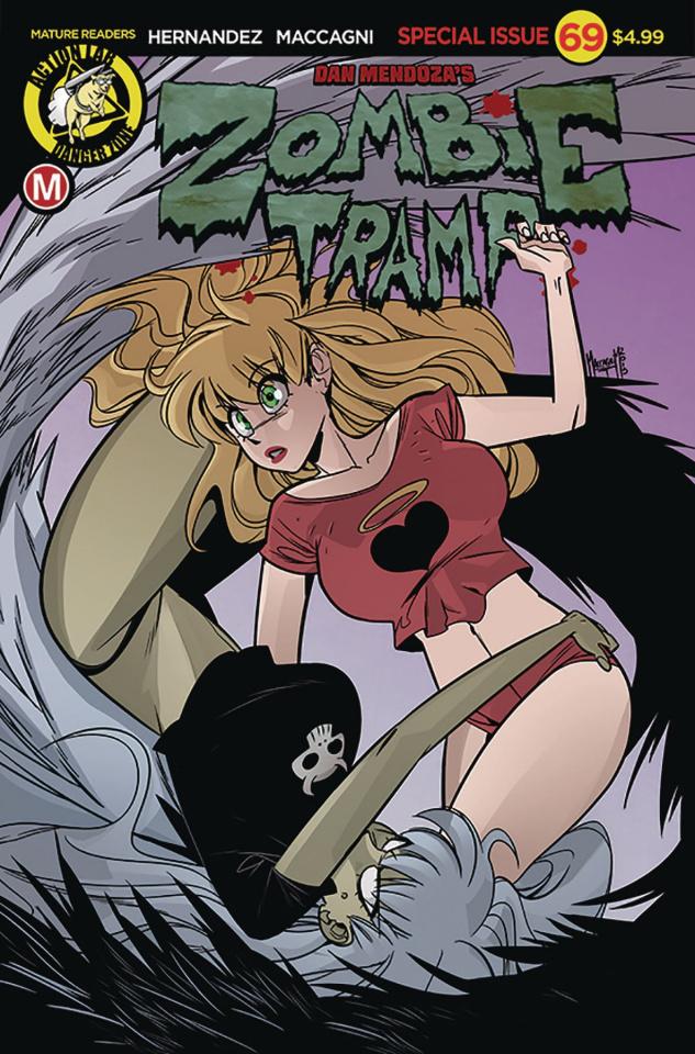 Zombie Tramp #69 (Maccagni Cover)