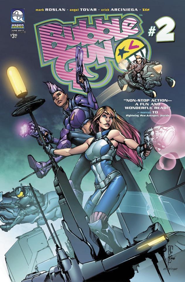 BubbleGun #2 (Konat Cover)