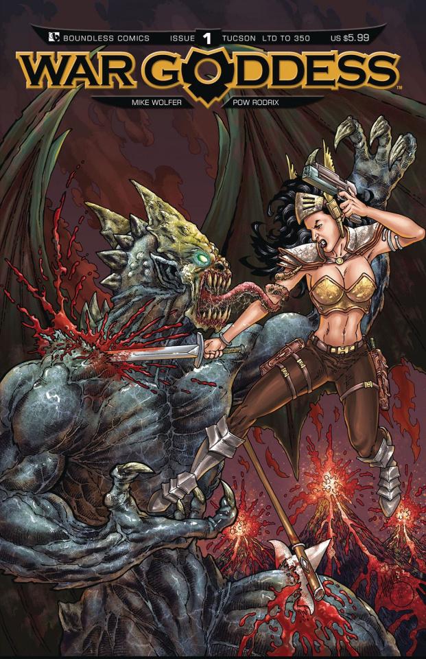 War Goddess #1 (Tucson Cover)
