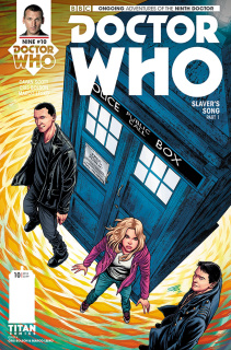 Doctor Who: New Adventures with the Ninth Doctor #10 (Bolson Cover)