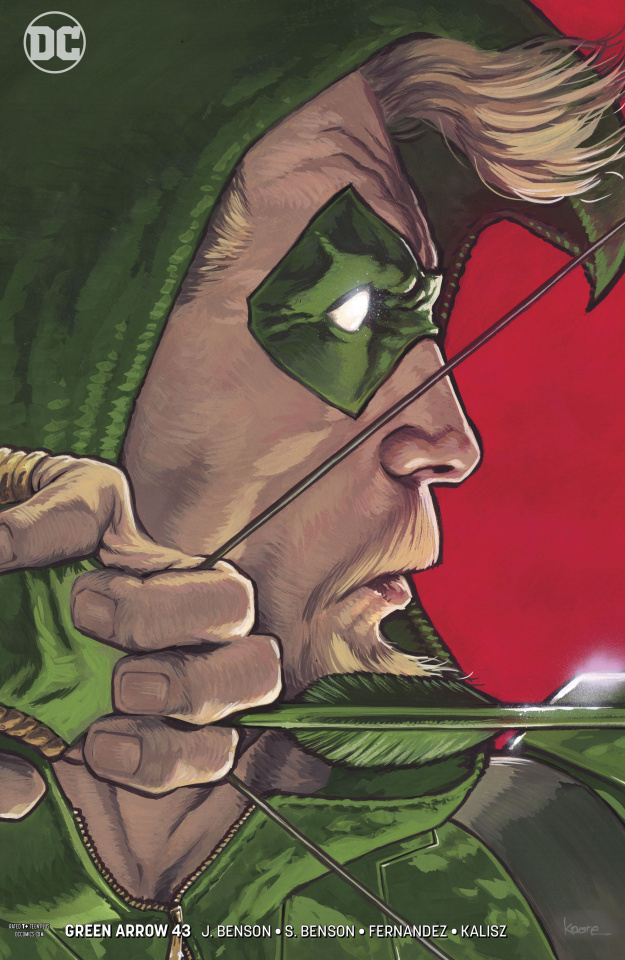 Green Arrow #43 (Variant Cover)