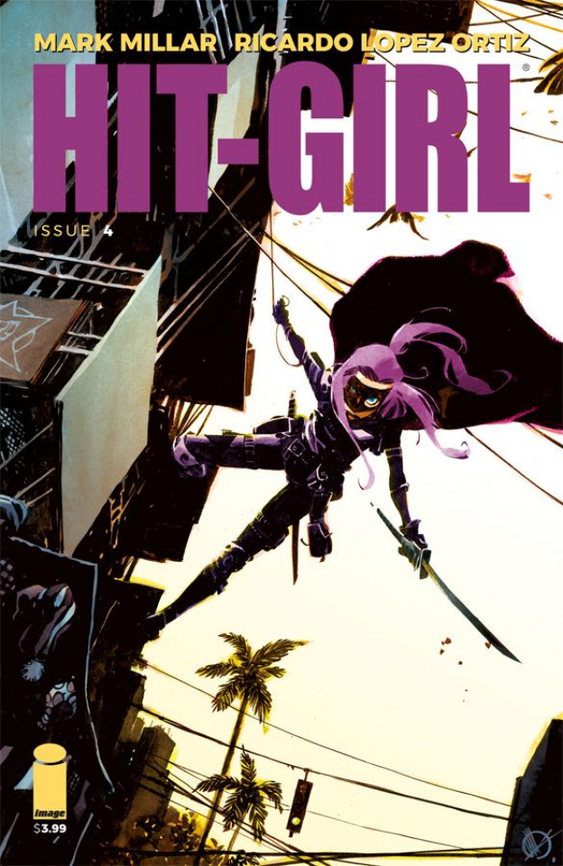 Hit-Girl #4 (Scalera Cover)